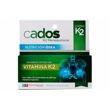 Suplemento Dietario Con Vitamina K2 30 Comp