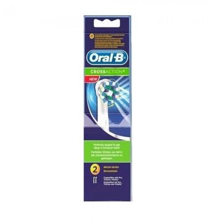 Repuesto Cepillo Dental Electrico Cross Blister 2U