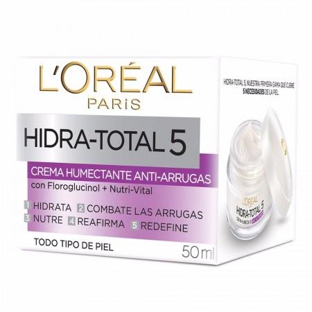 Hidra Total 5 Crema Antiedad, Antiarrugas 50ml