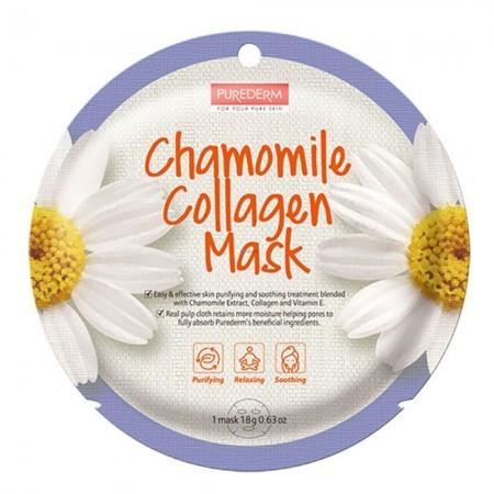 Chamomille Collagen Mask 1 máscara