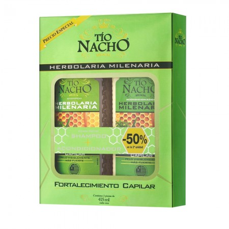 Shampoo + Acondicionador Herbolaria Milenaria