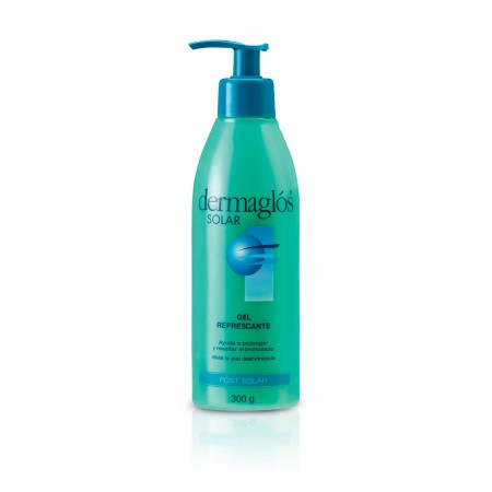 Dermaglós Post Solar Gel Refrescante Hidrata Nutre 300Ml