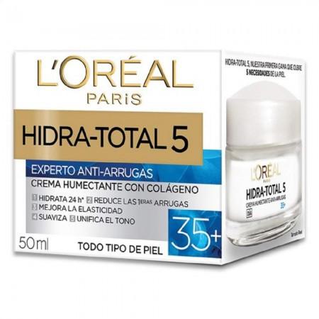Hidra Total 5 Crema Antiedad, Antiarrugas 35+ 50ml