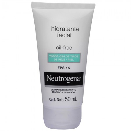 Crema Hidratante Facial Oil Free FPS15 50ml