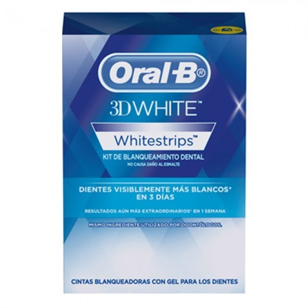 Cintas Blanqueadoras 3d Whitestrips Tiras X 28u
