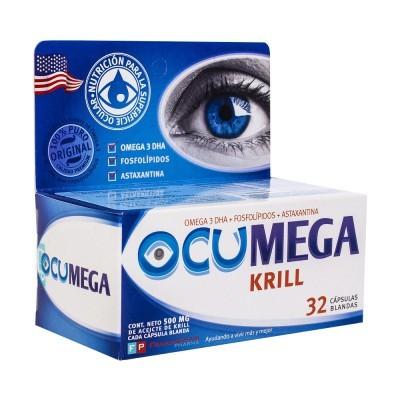 Nutrición de la superficie Ocular 32 cápsulas blandas