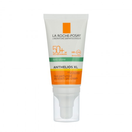 Gel Crema Anthelios XL Antibrillo Toque Seco Sin Color Fps 50+ 50ml