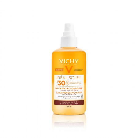 Agua Protectora  Ideal Soleil Fps 30 Luminosidad 200 ml