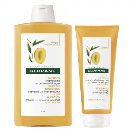 Set Mango Nutricion Shampoo 400 ml Balsamo 200 ml