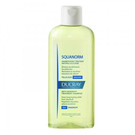 Squanorm Shampoo Tratante Caspa Grasa 200ml