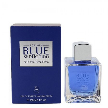 Perfume Antonio Banderas Blue Seduction Importado Men 100 ml