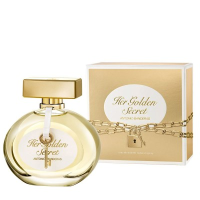 Perfume Antonio Banderas Her Golden Secret Importado 80 ml