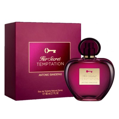 Perfume Antonio Banderas Her Secret Temptation Mujer 80 ml