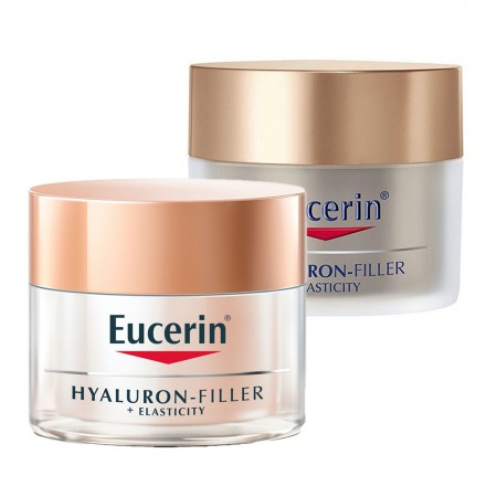Set Hyaluron Filler + Elasticity Crema Dia + Noche