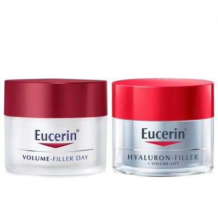 Set Hyaluron Filler Volume lift Crema Noche + dia