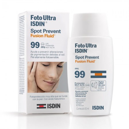 Fotoprotector Ultra Spot Prevent Fusion Fluid 50ml