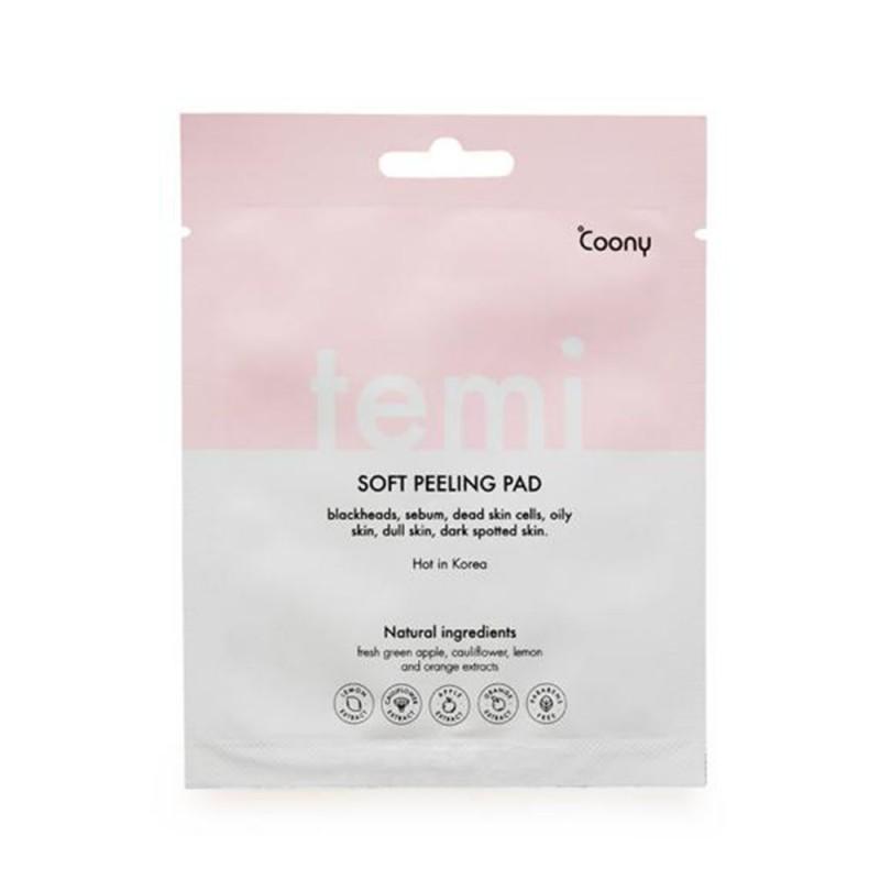 Pad Circular Temi Soft Peeling Pack Piel Renovada