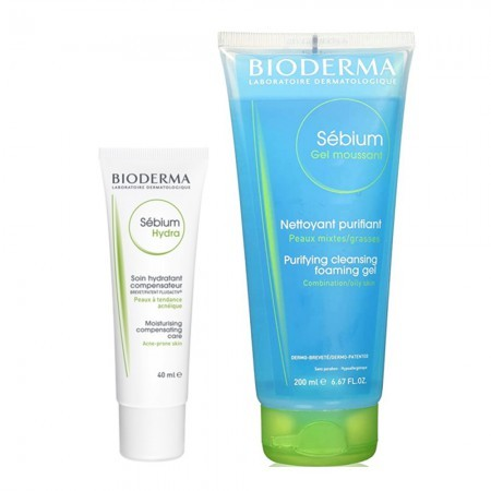 Set Sebium Hydra 40ml + Gel Moussant 200ml