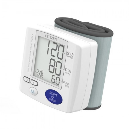 Tensiómetro Digital Automático Muñeca Citizen Ch-617