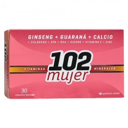 Suplemento Vitaminas Mujer 30 Capsulas
