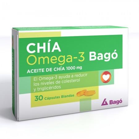Chia 1000mg Reduce Colesterol 30 Caps