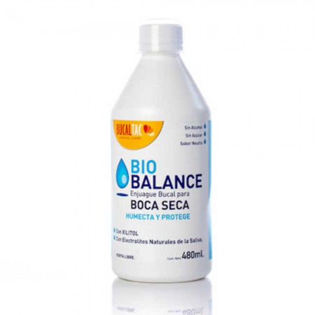 Enjuague Bucal Tac Boca Seca 480 ml
