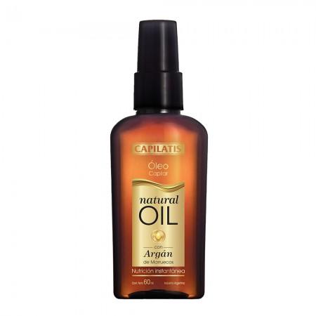 Oleo Capilar Nutritivo Enriquecido Natural Oil 60ml