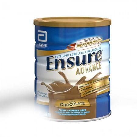 Advance Suplemento Alimenticio de Chocolate 400 Gr