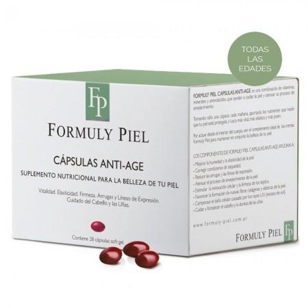 Capsulas Antiedad Minerales Aminoacidos 28 caps