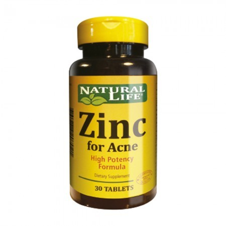 Suplemento Zinc High Potency Formula 30 caps