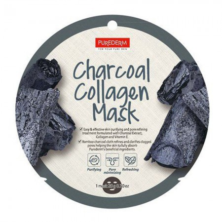 Mascarilla Charcoal Collagen Antiacne