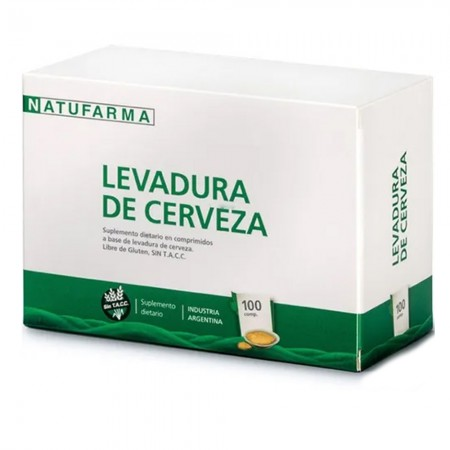 Suplemento Dietario Levadura de Cerveza 100 compr