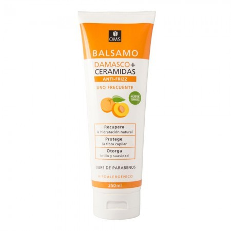 Balsamo Damasco + Ceramidas S/Parabenos Anti-Frizz 250 ml