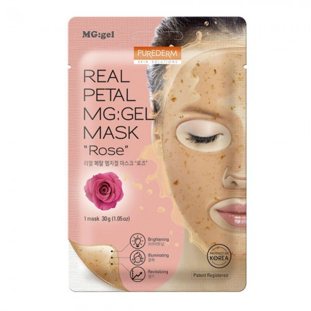 Mascarilla Real Petal Mg Gel Rosa