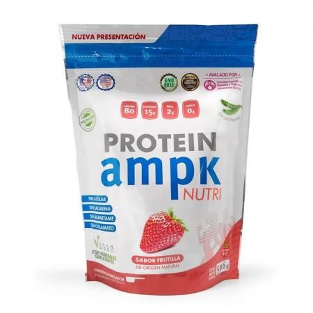 Protein Nutri Suplemento Proteina Vegana Frutilla 506gr
