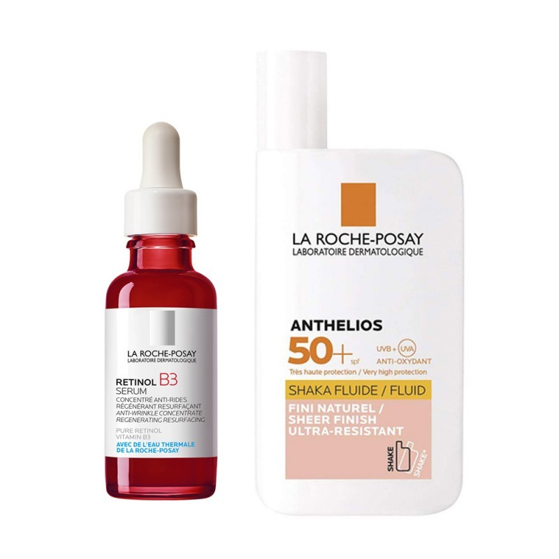 Set Retinol B3 30ml + Shaka Fluid Sin Color 50ml