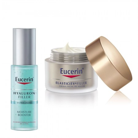 Set Hyaluron Elasticity Noche 50ml + Hydrating Booster 30ml