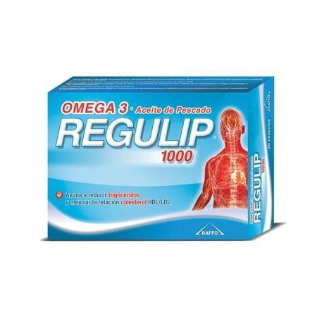 Omega 3 Regulip 1000 Aceite de Pescado 20 Comprimidos