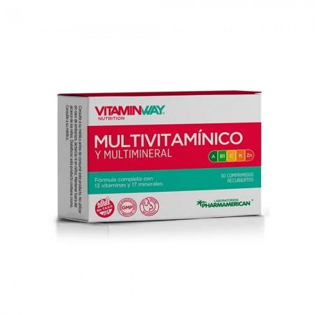 Multivitaminico Multimineral Bienestar General 30comp