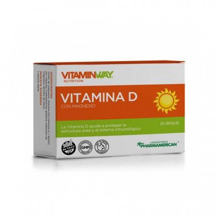 Vitamina D con Magnesio 30comp