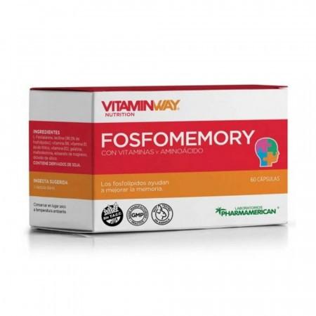 Fosfomemory Vitaminas Aminoacidos Mejora Memoria 60comp