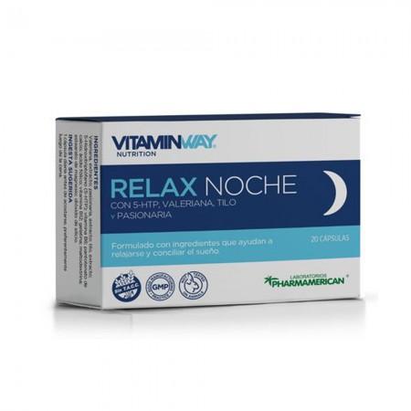 Relax Noche Mejora Cantidad Y Calidad Del Sueño 20comp