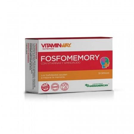 Fosfomemory Vitaminas Aminoacidos Mejora Memoria 30comp