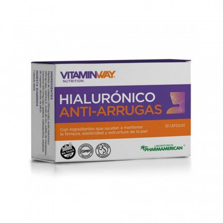 Suplemento Dietario Hialuronico Anti-Arrugas 30comp