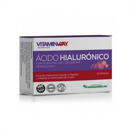 Acido Hialuronico Coenzima Q10 Colágeno Antiedad 30comp