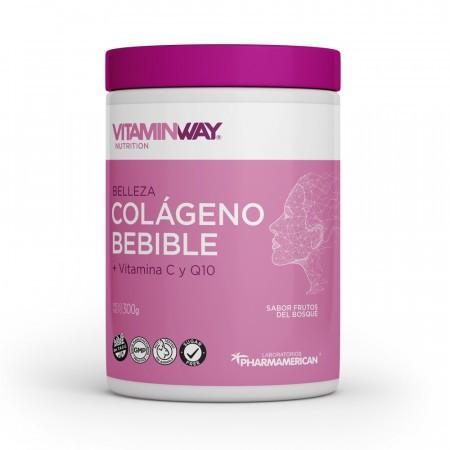 Colageno Bebible + Vitamina C + Q10 Por 300gr