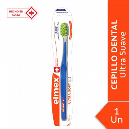 Elmex Ultra Soft Cepillo Dental Suave 1 Unidad