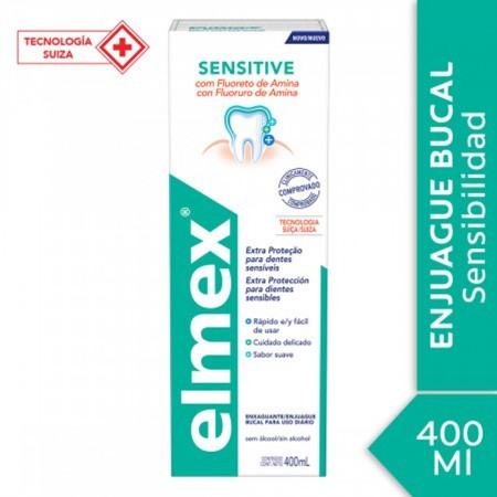 Sensitive Enjuague Bucal Sin Alcohol 400 Ml