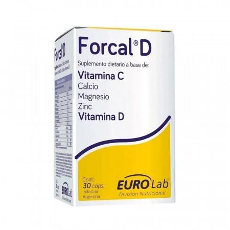 Forcal D 30 Cápsulas Mejora Sistema Inmunológico