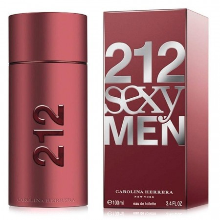 Perfume Carolina Herrera 212 Sexy Men Importado Edt 100 Ml